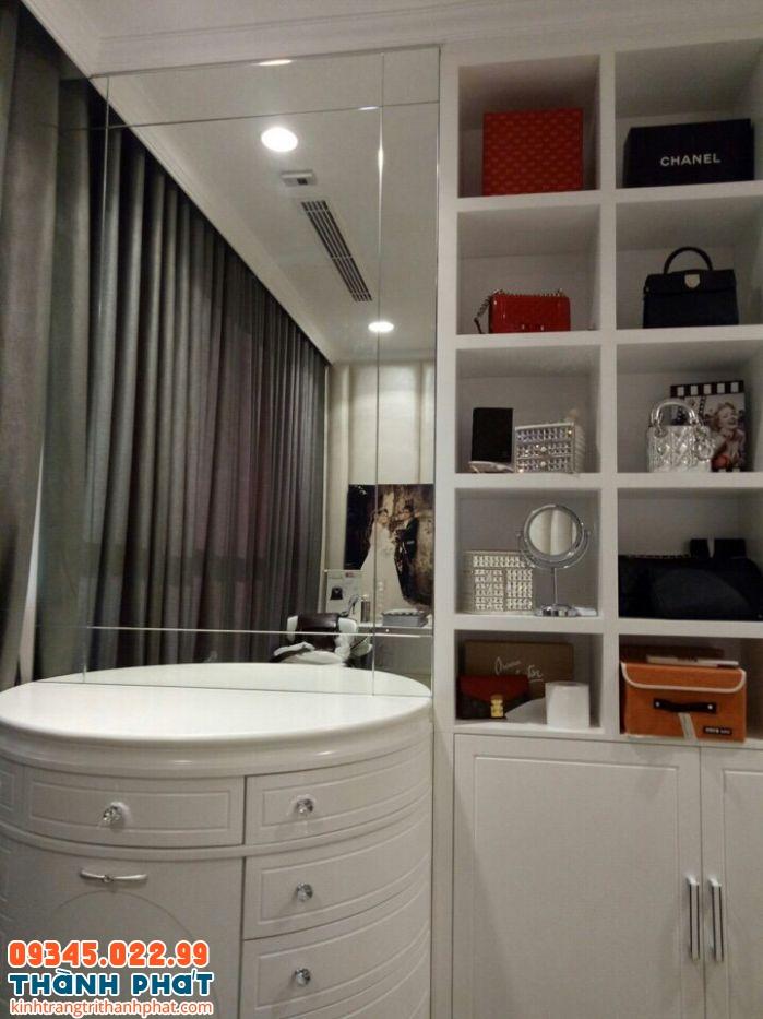 Gương ốp tường cho tủ