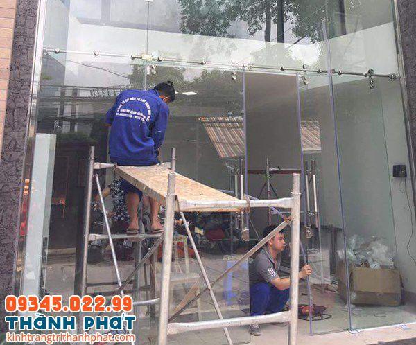 Thi công cửa kính tại tphcm