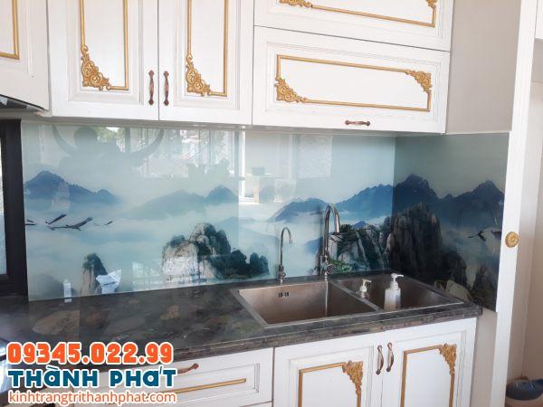 Kính bếp 3D tphcm